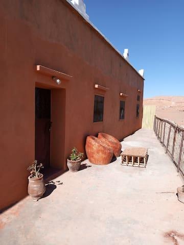 Charmante maison berbère à Ait ben Haddou