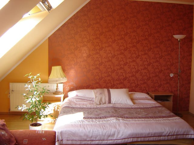 Nice, quiet apt. in the Center! +WIFI +Parking - Eger - Apartamento