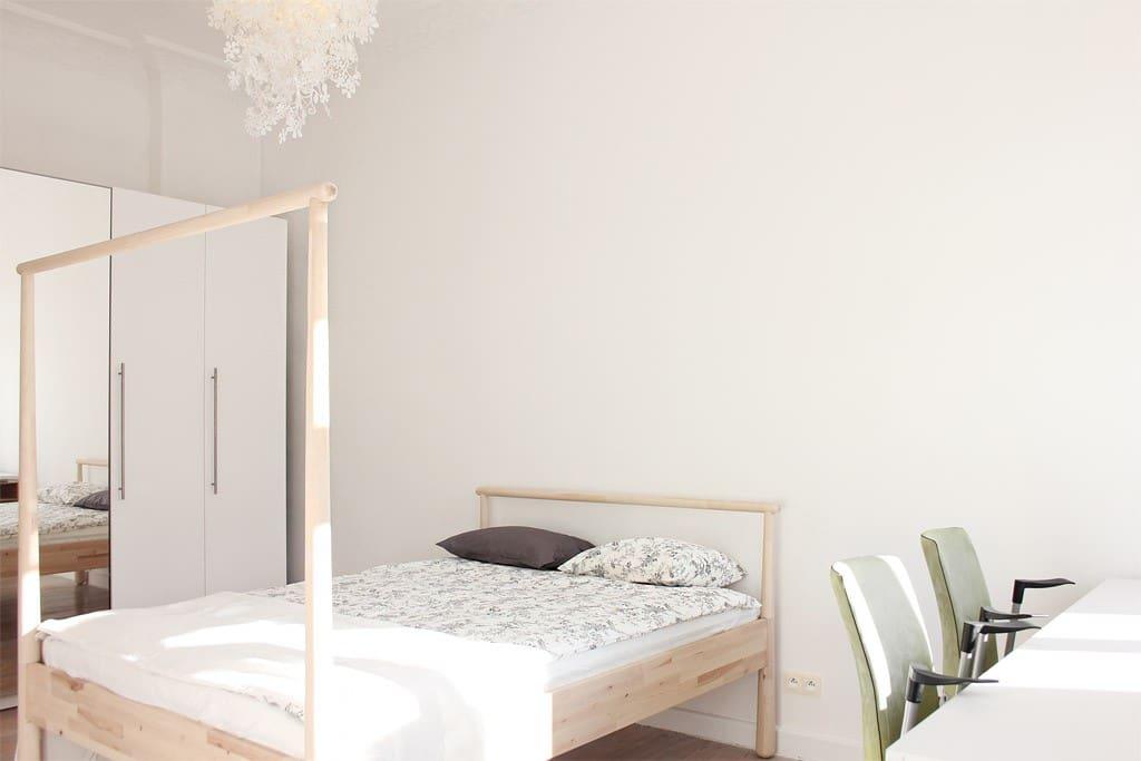 Duża sypialnia / Comfortable bedroom