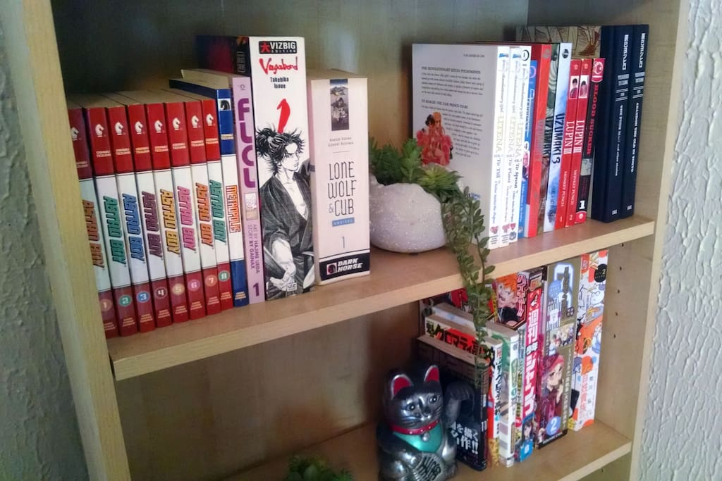 Enjoy our growing manga collection!