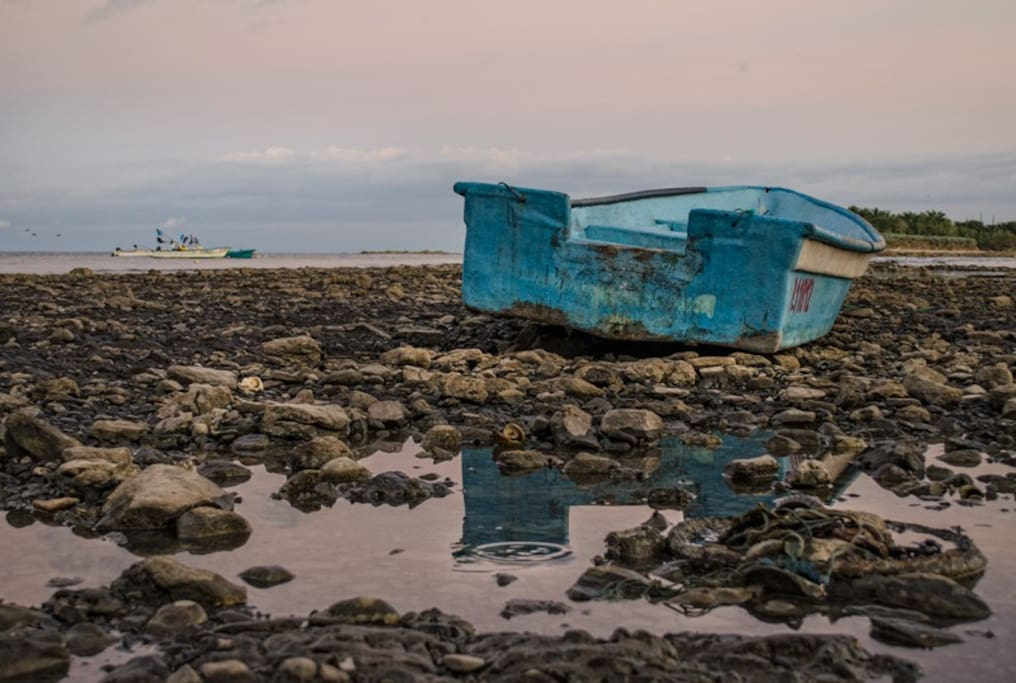 Low tide at the Cabuya island