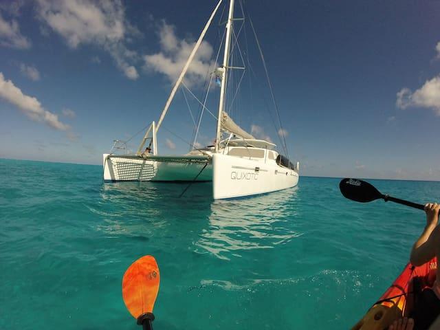 Sailing Catamaran QUIXOTIC in Savusavu, Fiji! - Savusavu - Tekne