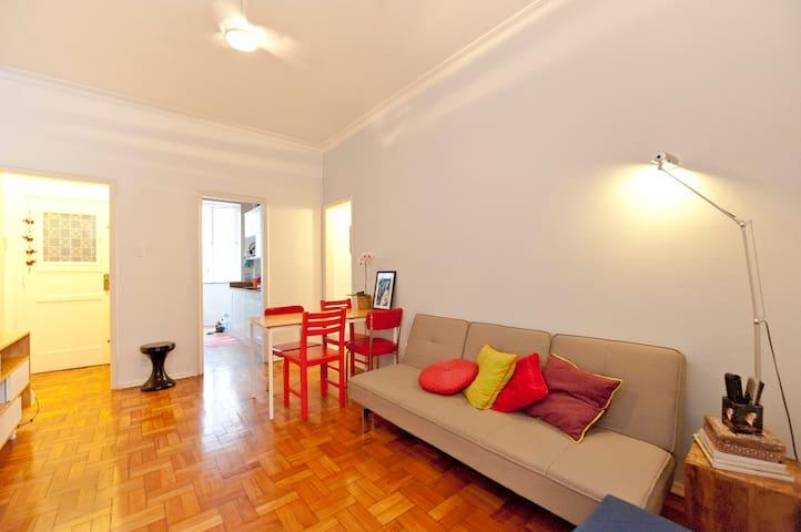Cozy charming perfect location! - Rio de Janeiro - Huoneisto
