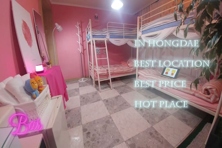 NEW6♥[Open SALE]HONGDAE MIRACLE HOUSE♡BEST LOCTION