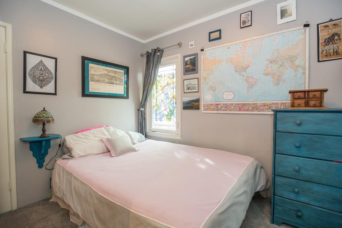 ... This Is Your Cozy Room, With Full Closet, Dresser, Desk Overlooking The  Zen