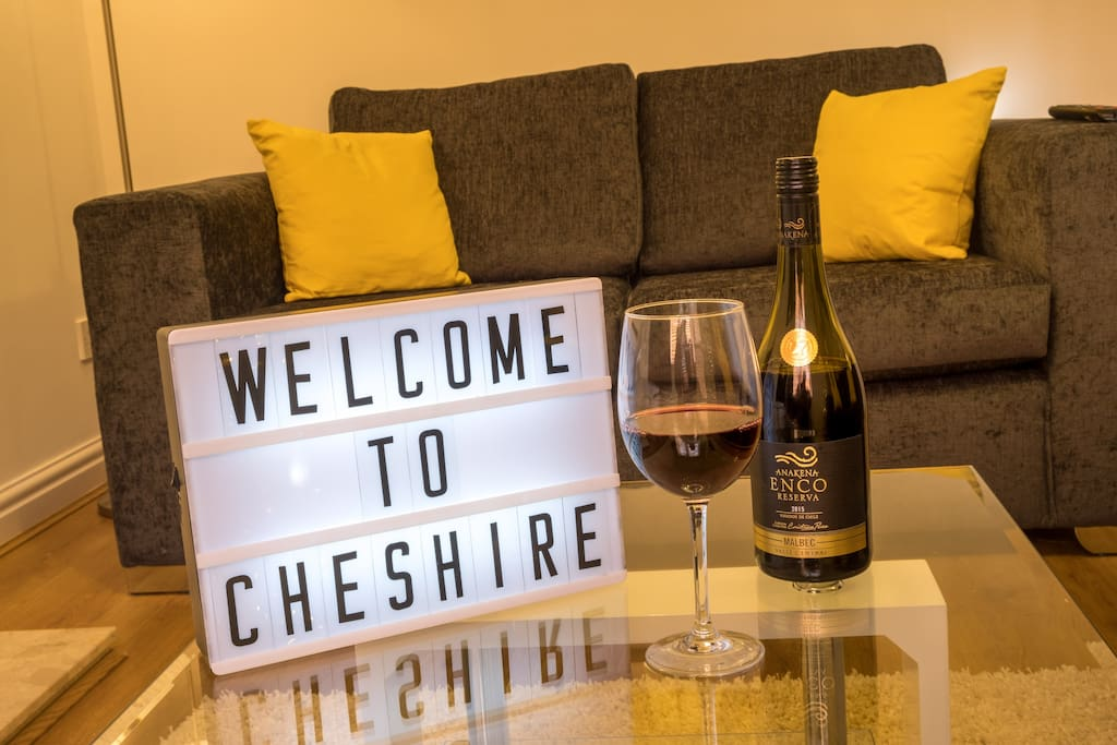 Welcome to Cheshire!