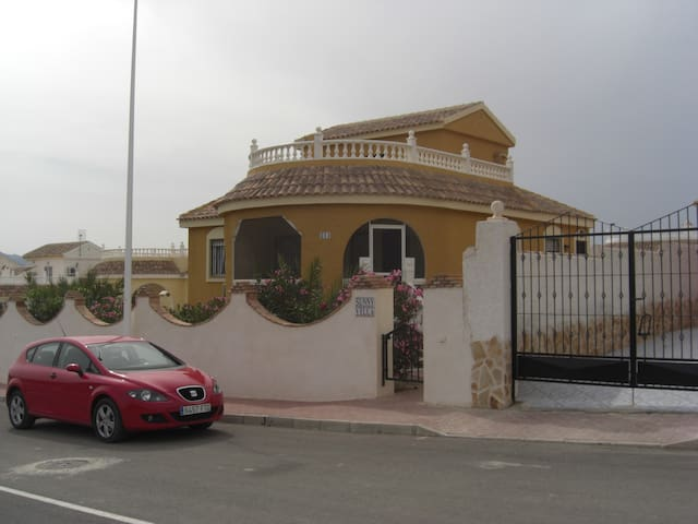 Spainish Villa with pool 3 bedroom - Mazarrón - Villa