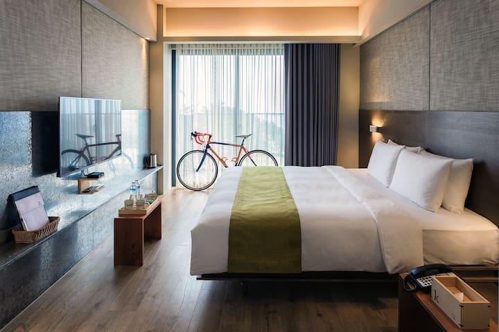 KADDA HOTEL精緻B(2人房) 含早餐/海景/無邊際泳池/單車免費租借