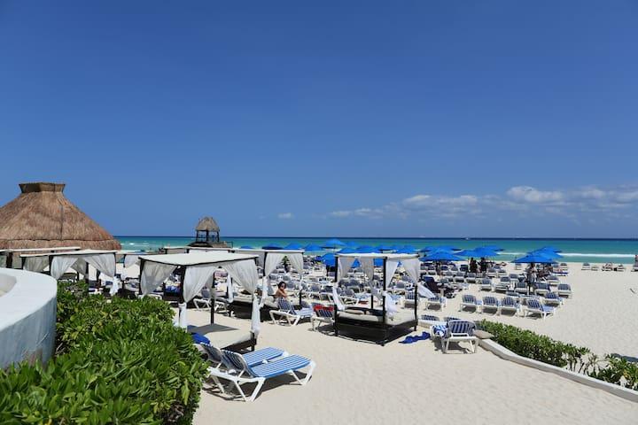 306. Reef. Paseo del Sol. 2 Badroom. Ocean View - Quintana Roo - Huoneisto