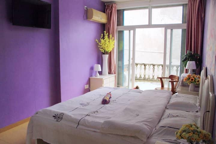 [丽姐的阳光房]黄山市区温馨舒适地暖亲子房