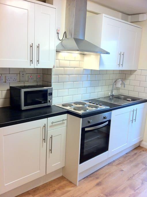 Apartment 6 - Kitchen
