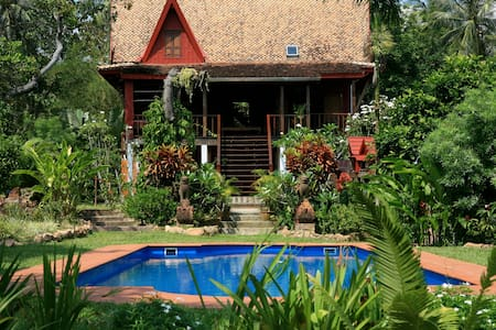 """Piman Pu"" - pool villa, on Koh Pu - Krabi - วิลล่า"