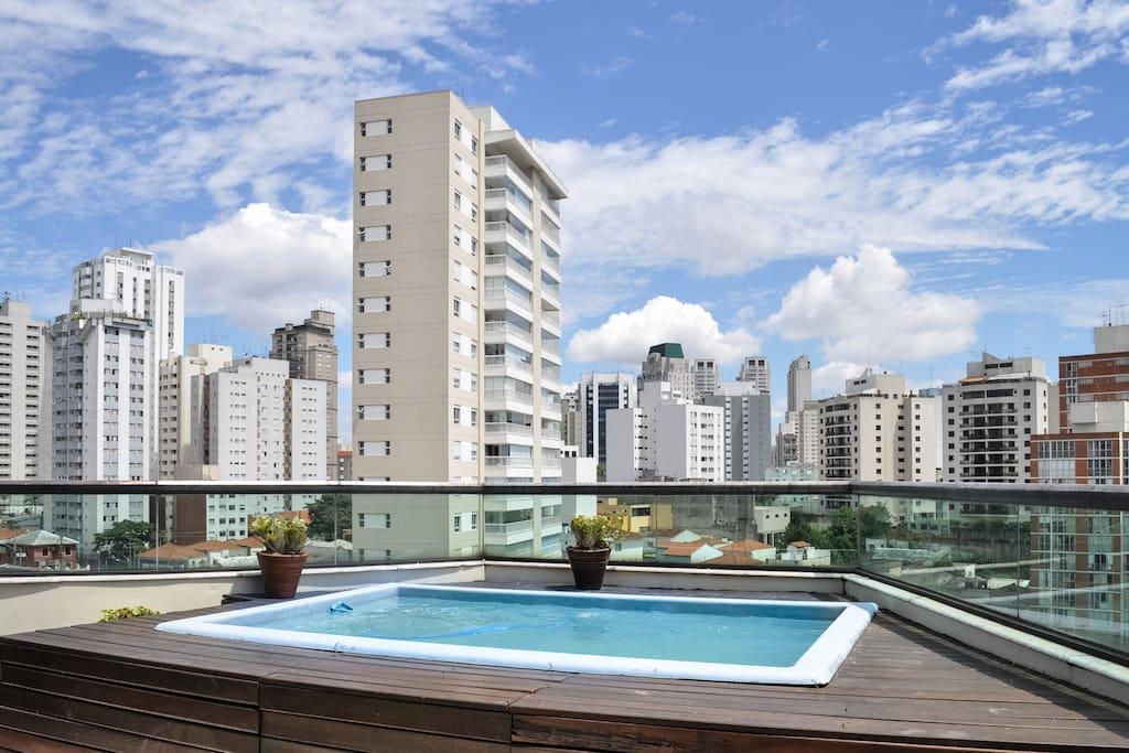 Sao paulo Skyline view
