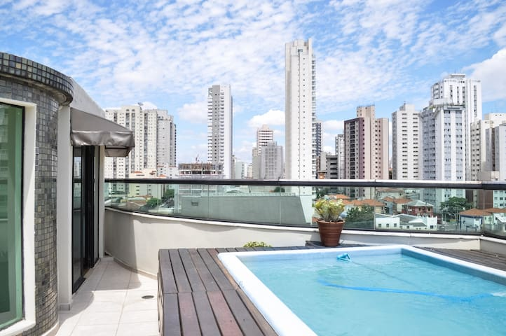 Gorgeous Penthouse w private pool !
