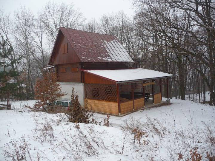 Úžasná  chata-tokajská oblasť
