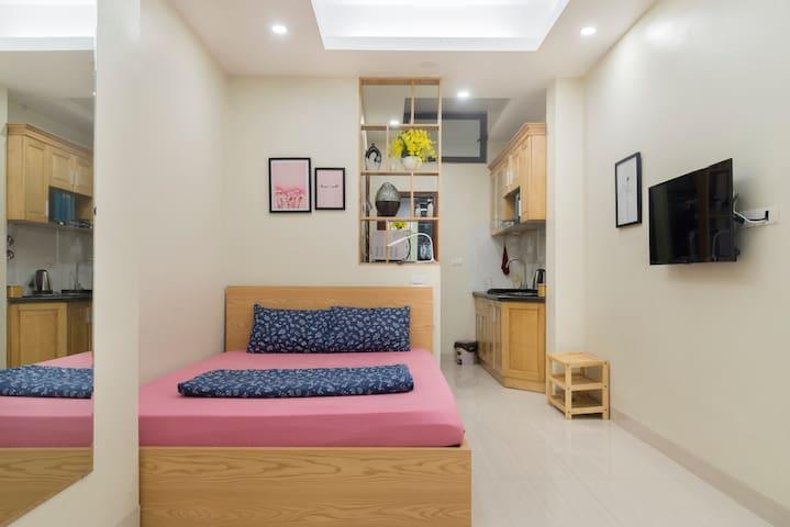 MAI HOME - Equipped Studio Apt central Hanoi #306