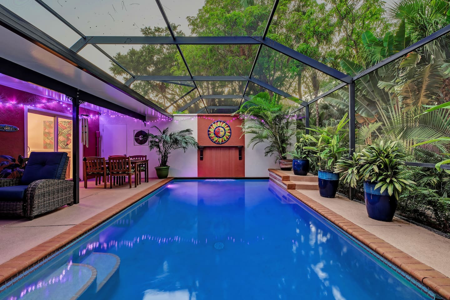 Your private heated pool