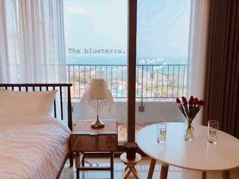 Cheongcho Sunset_Bed to Sea,  restaurante Sunset, baño de mar de 5 minutos, azotea