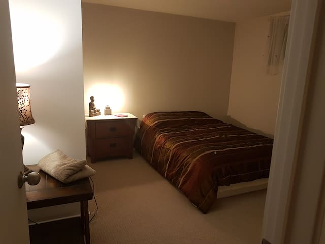 Beautiful one bedroom basement close to airport
