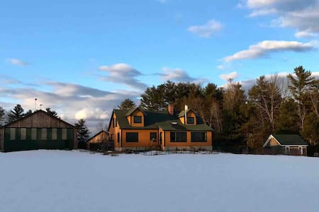 4 Bedroom House on 76 Acres near ITS Trail