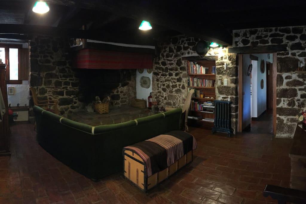 Sala de la chimenea
