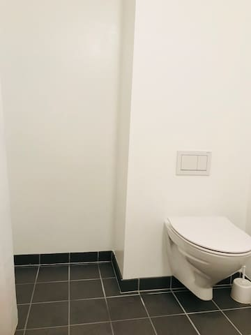 New toilet