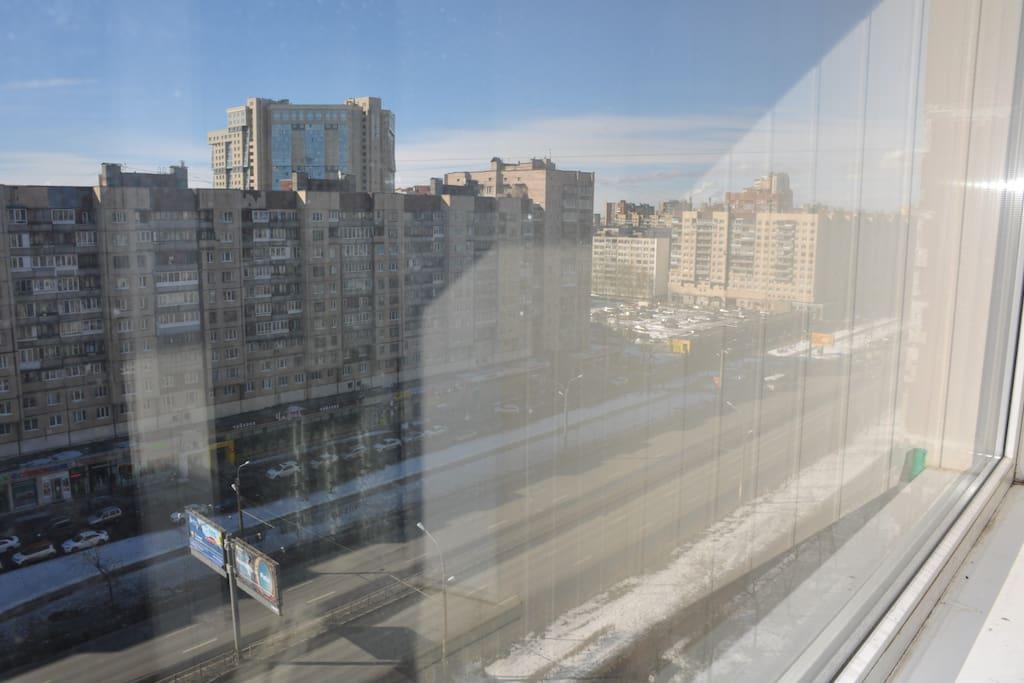 Вид из гостевого окна