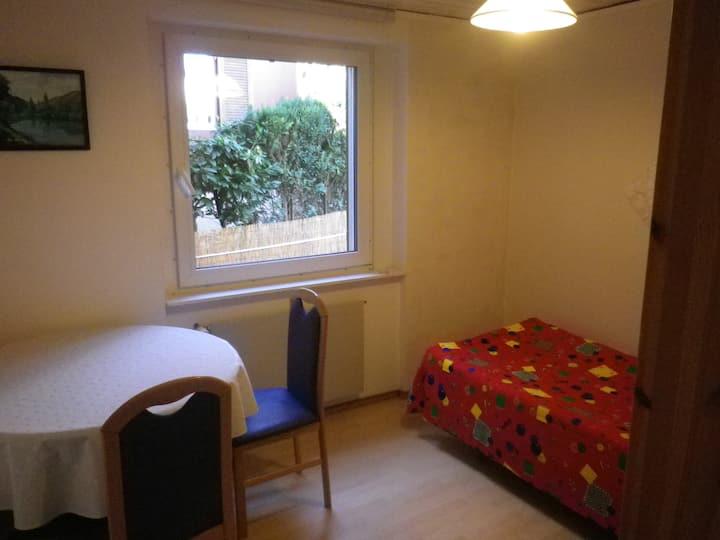 Zimmer2 Verbindung nach Zürch Baden