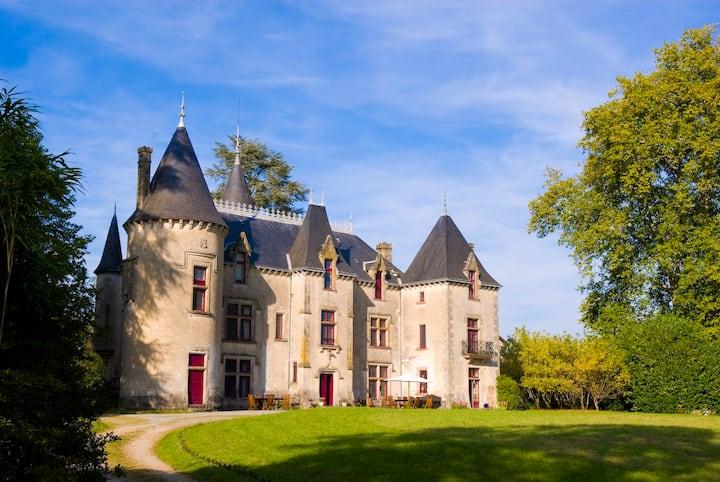 Grand Suite at Chateau de Ribagnac