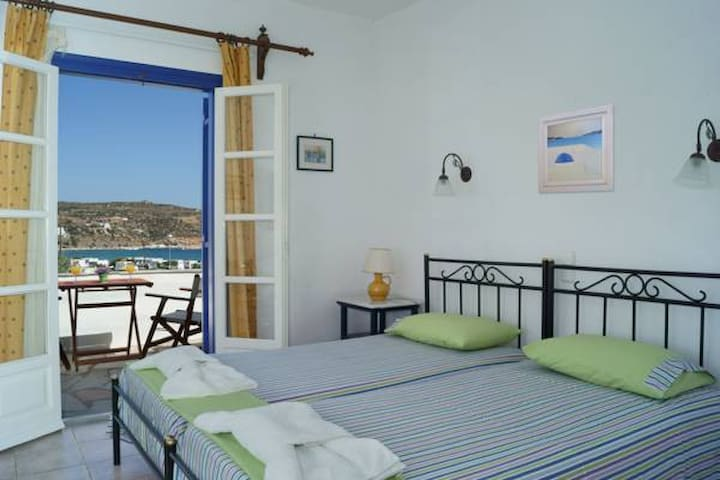 """Great  Seaview-Lovely Place in Sifnos (""""Sevasti"""")"""