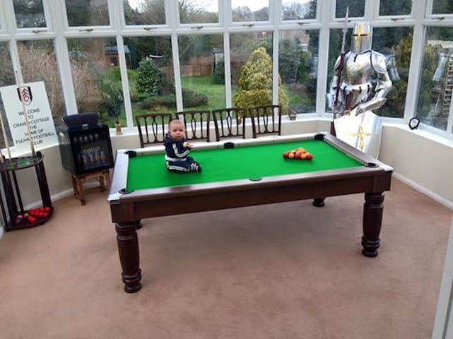 4-Bed House,Pool Table,Climbing Frame,Jacuzzi Bath - Surrey - House