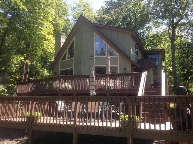 Arrowhead Lakefront Getaway - Tobyhanna Township - Alojamiento vacacional