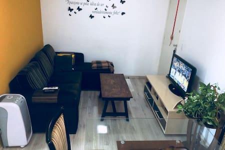 Aconchegante apartamento com garagem em Contagem