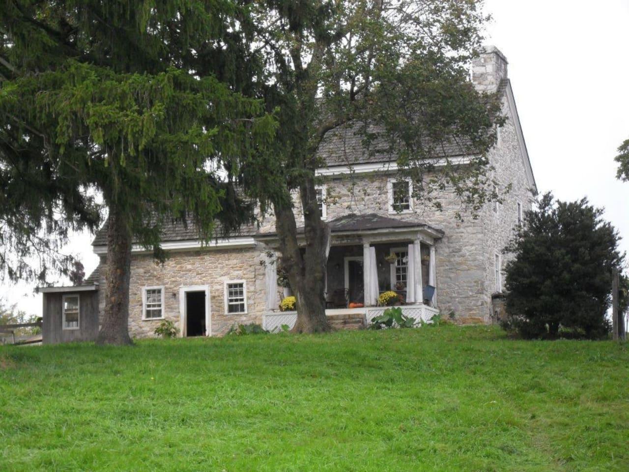 Oldeststone Farm, WV (rear corner)