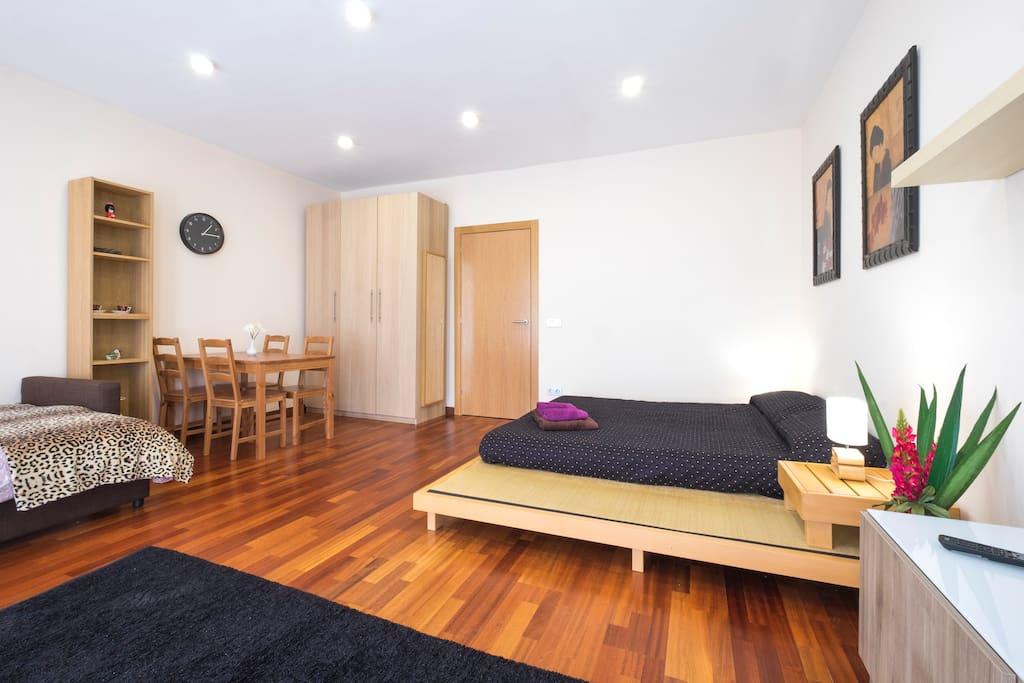 Espectacular habitaci n con tatami vl 2 flats for rent - Habitacion tatami ...