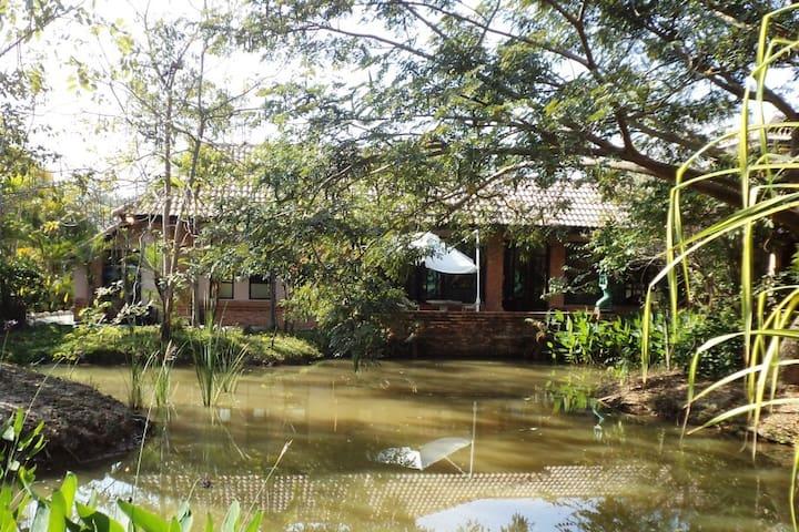Kinkala Deluxe Garden Apartment 1 - San Kamphaeng - Квартира