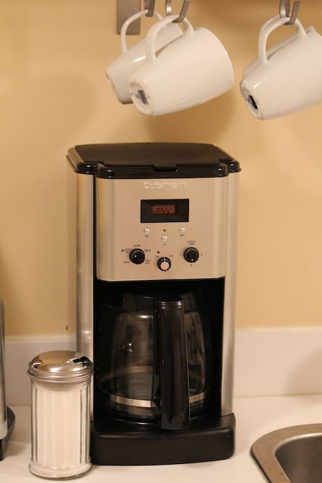 Coffee is provided for your stay!