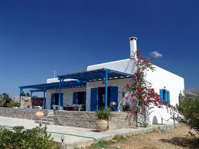 Cycladic Villa on Paros Pounta - Paros - Villa