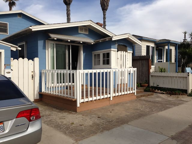 Amazing Cottage at the Beach in OB! - San Diego - Casa