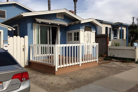 Amazing Cottage at the Beach in OB! - San Diego - Haus