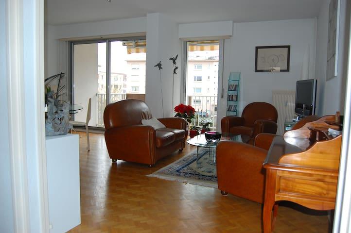 beautiful apartment Colmar 2 bedrooms, garage.