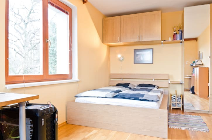 Prague, a room with private kitchen - Prague - Rumah