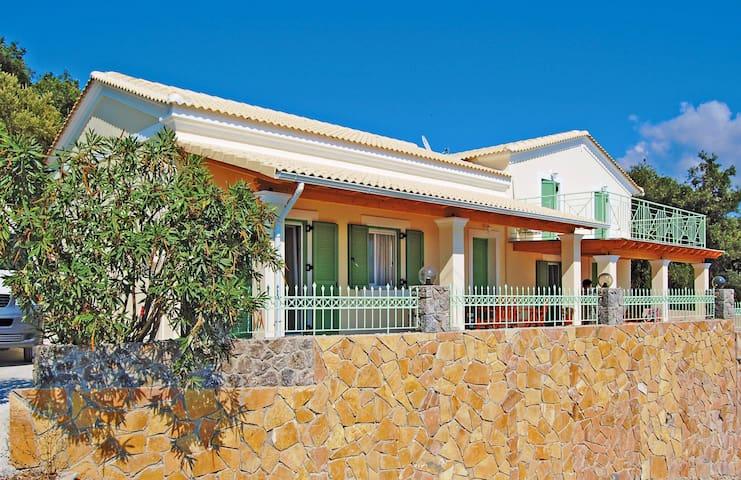 Rundum Meerblick Ferienhaus Nordwesten Korfus - Afionas - Casa