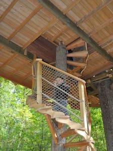 Cabane familiale Anne Malet - Vernou-la-Celle-sur-Seine - บ้านต้นไม้