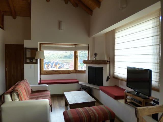 Duplex en Cerro Catedral, excelente vista - San Carlos de Bariloche - Apartment