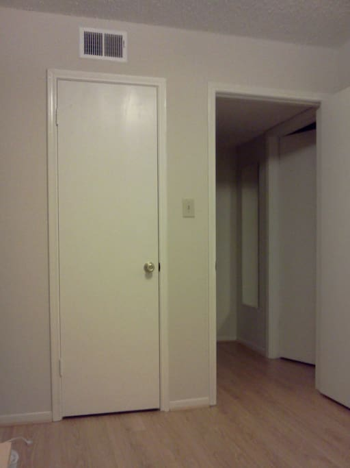 CLOSET, ROOM ENTRANCE (DIFFERENT VIEW)