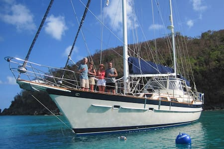Sailing in the BVI & USVI 2020/2021