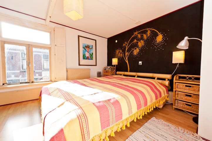 Cosy room under watertower, close station Alkmaar - Alkmaar - Szoba reggelivel