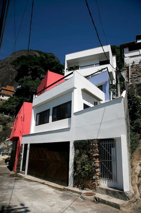 Façade of the whole house