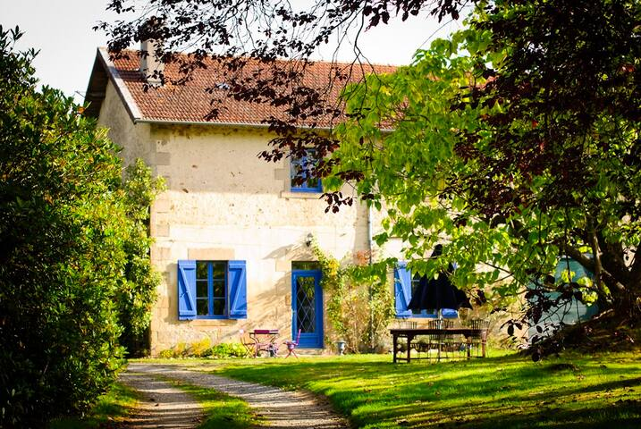 Le Catalpa French holiday cottage - Saint-Martin-Terressus - Hus